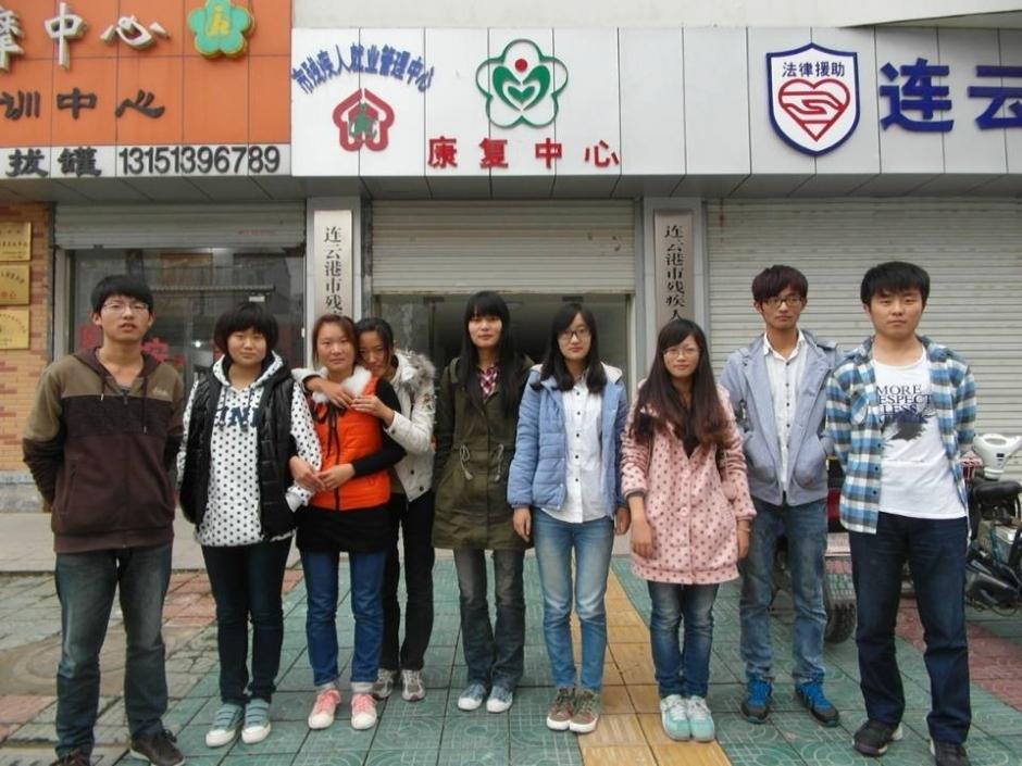 同时,我们大学生也感受到了自身对社会的责任。